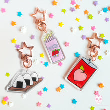 Load image into Gallery viewer, Japanese Snack Keychains - Glitter Bones Boutique