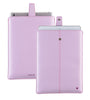 Apple iPad Sleeve Case in Purple Vegan Leather | Screen Cleaning and Sanitizing Lining