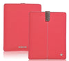 Canvas Coral Pink 'Screen Cleaning' iPad sleeve case with antimicrobial lining