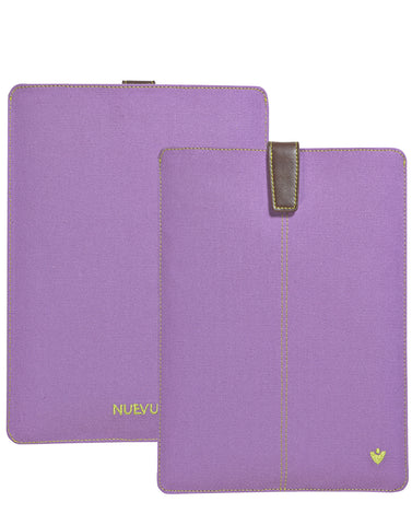 Samsung Galaxy Tab S3 Sleeve Case in Purple Canvas