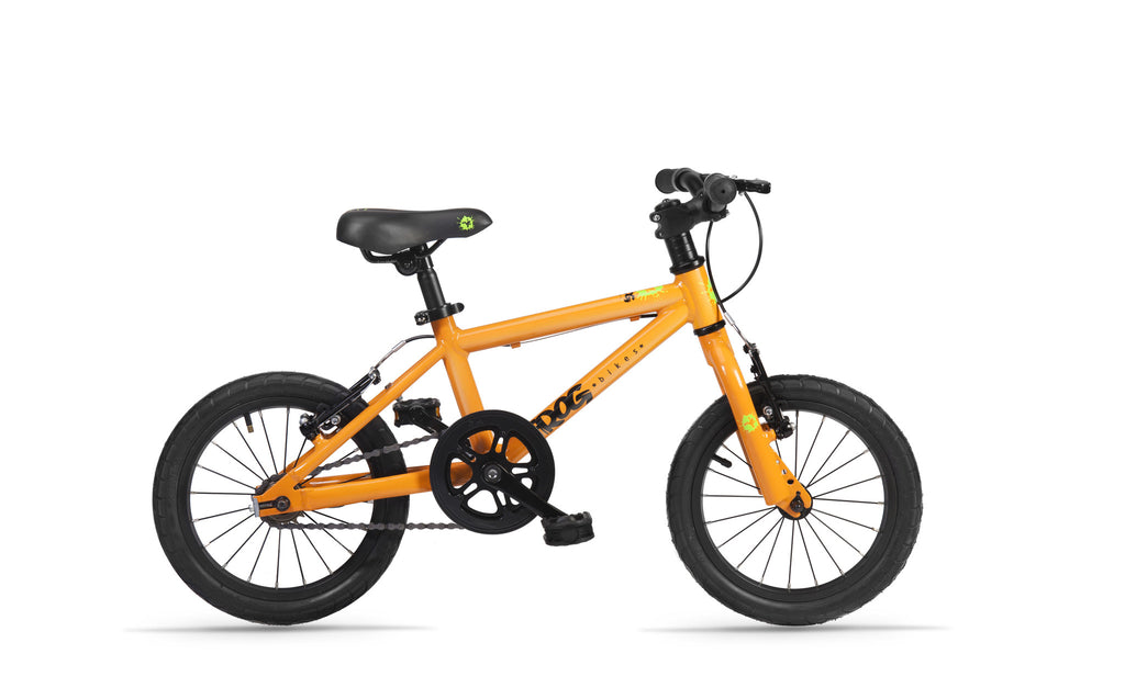 g 43 orange lightweight kids bike with free £20 gift voucher