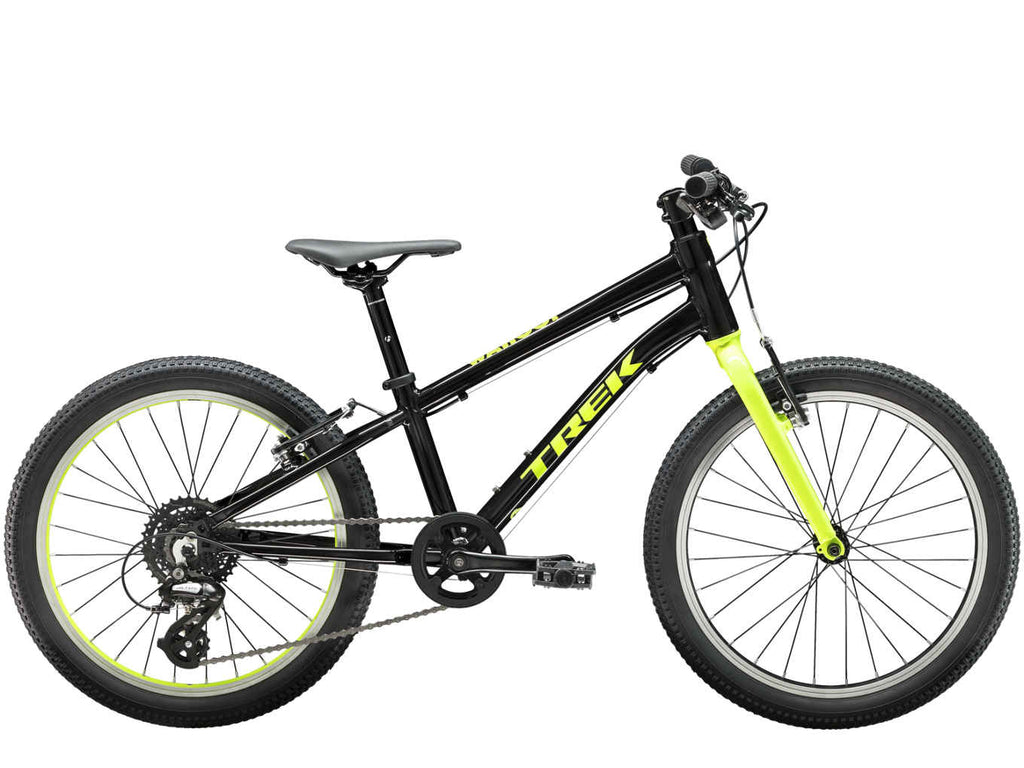"All Ride Now Trek Wahoo 20"" available in all sizes and colours. Lightweight kids bike."