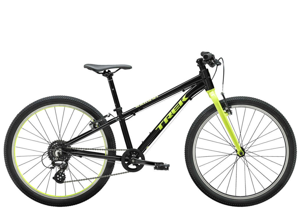 "All Ride Now Trek Wahoo 24"" available in all sizes and colours. Lightweight kids bike."