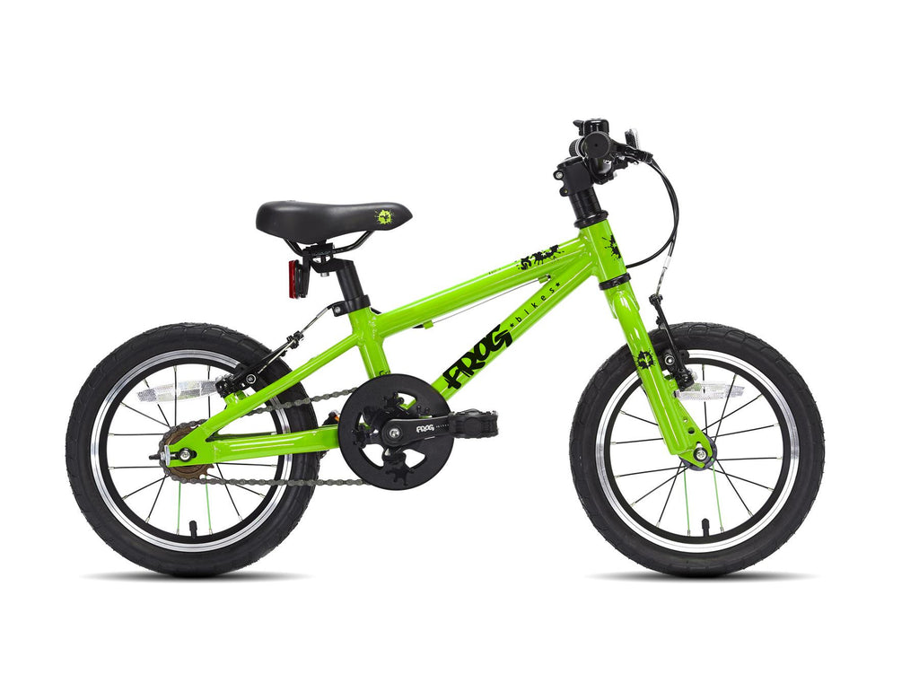 Frog 43 green lightweight kids bike with free £20 gift voucher