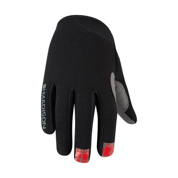 Madison Trail Youth Gloves Black/Red