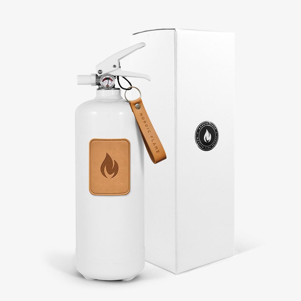 Fire Extinguishers 2 kg - Light Brown Leather