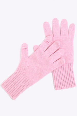 Sustainable Cashmere Glove - Light Pink