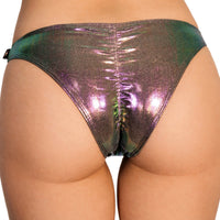 'Fantasy' Scanty pants savage green