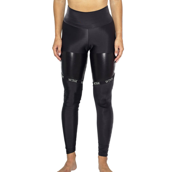 'Infinity eco' high waist leggings black