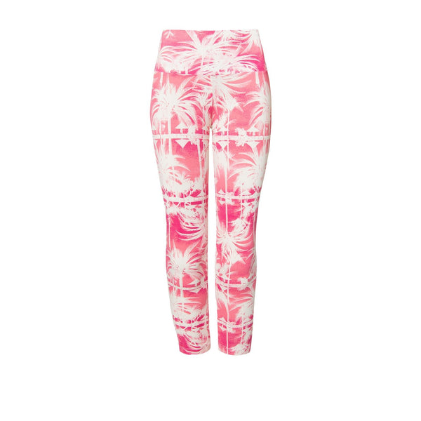 'Gigi capri watermelon margarita' 3/4 length leggings