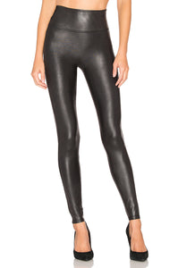 Spanx Faux Leather Leggings - Black
