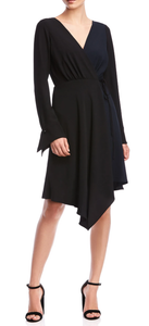 Bailey 44 Marilyn Dress - Black/Navy