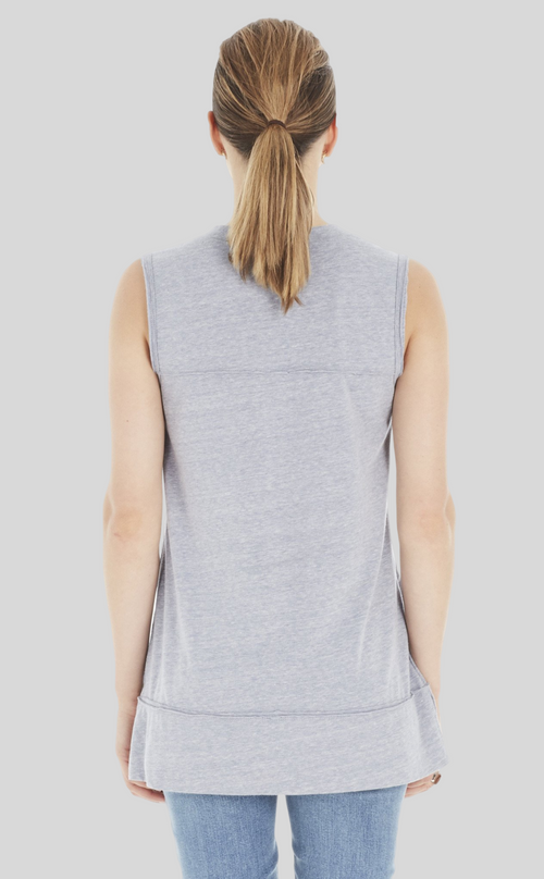 Sleeveless V-Neck