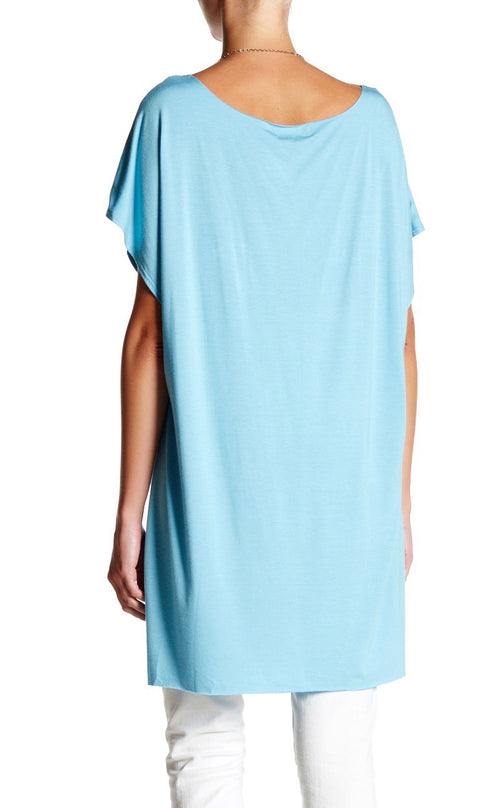 Scoop Neck High Low Tunic