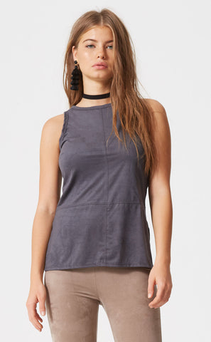 Strappy Short Sleeve Top