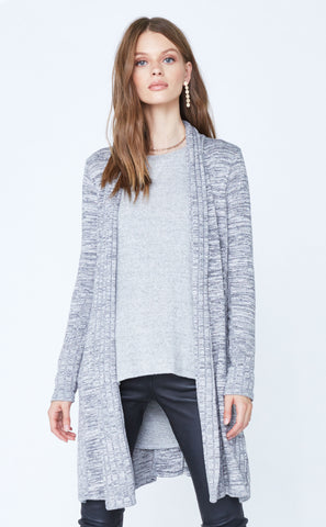 Crew Neck Long Sleeve Pleated Back Pullover