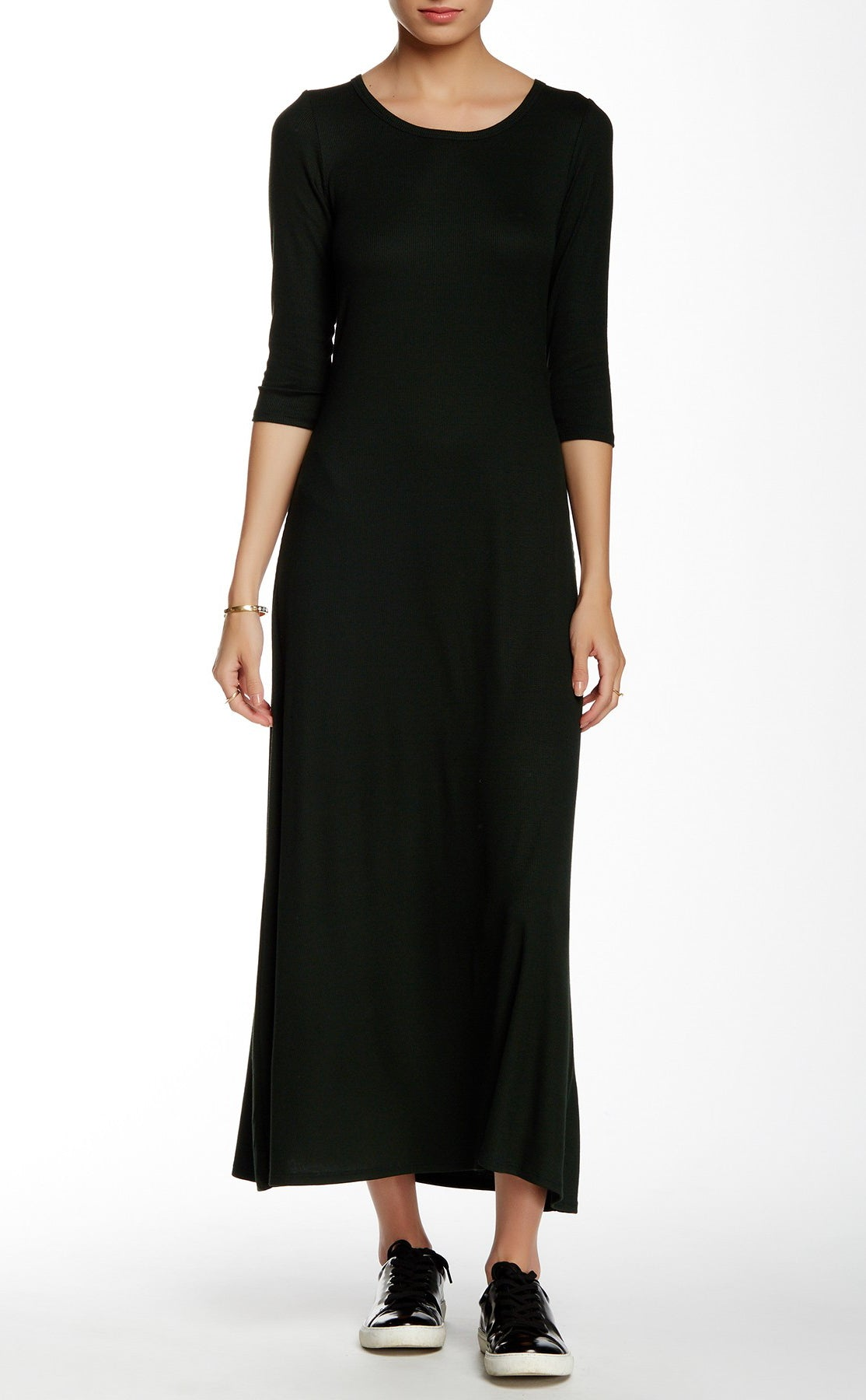 3 4 Sleeve Maxi Dress Laila Jayde