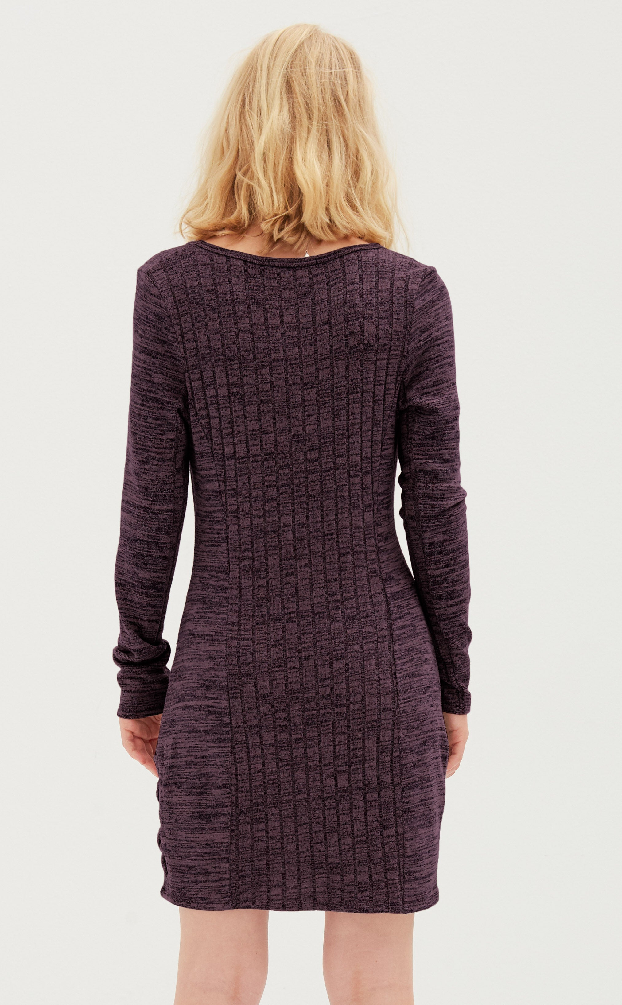 Fitted Long Sleeve Dress