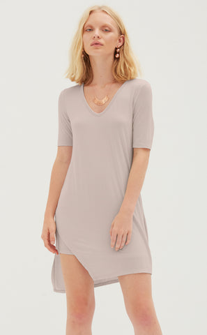 Tunic Dress with Tie