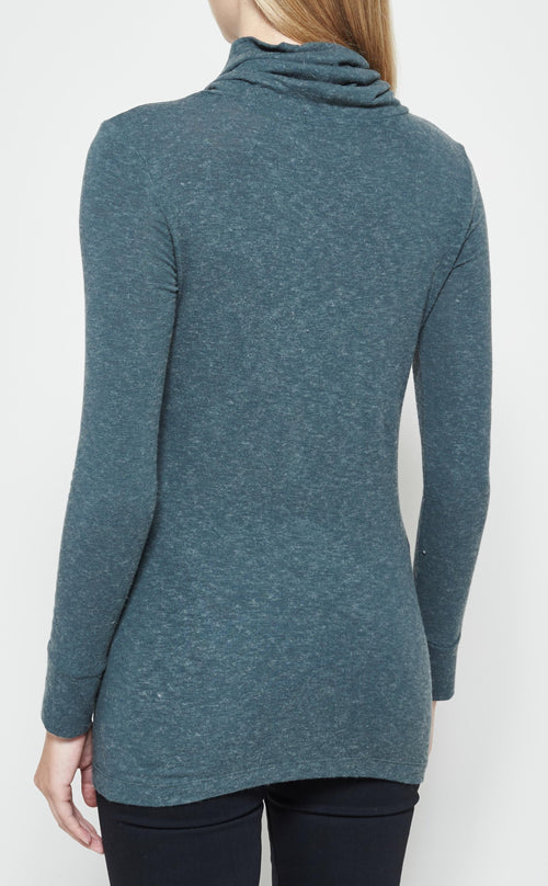 Funnel Neck Long Sleeve