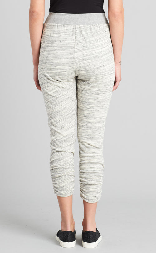 Mixed Fabric Jogger