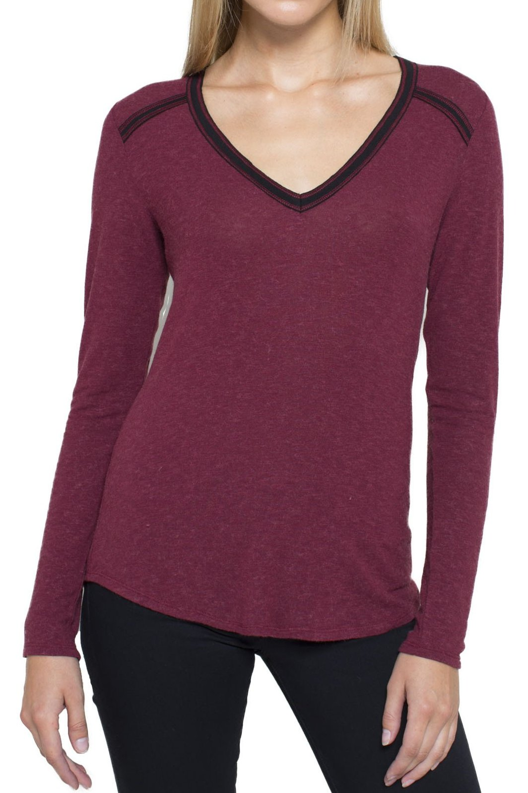 Highland V-Neck Long Sleeve