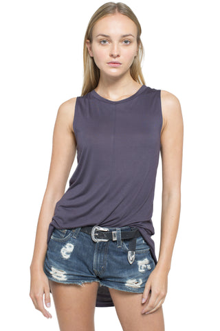 Sleeveless High Low Eclipse Top (more colors available)