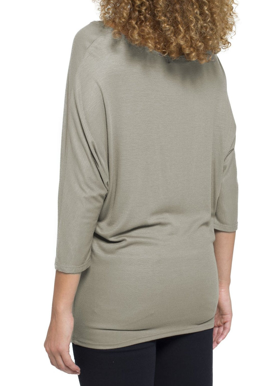Dolman in Ribbed Jersey Knit (more colors available)