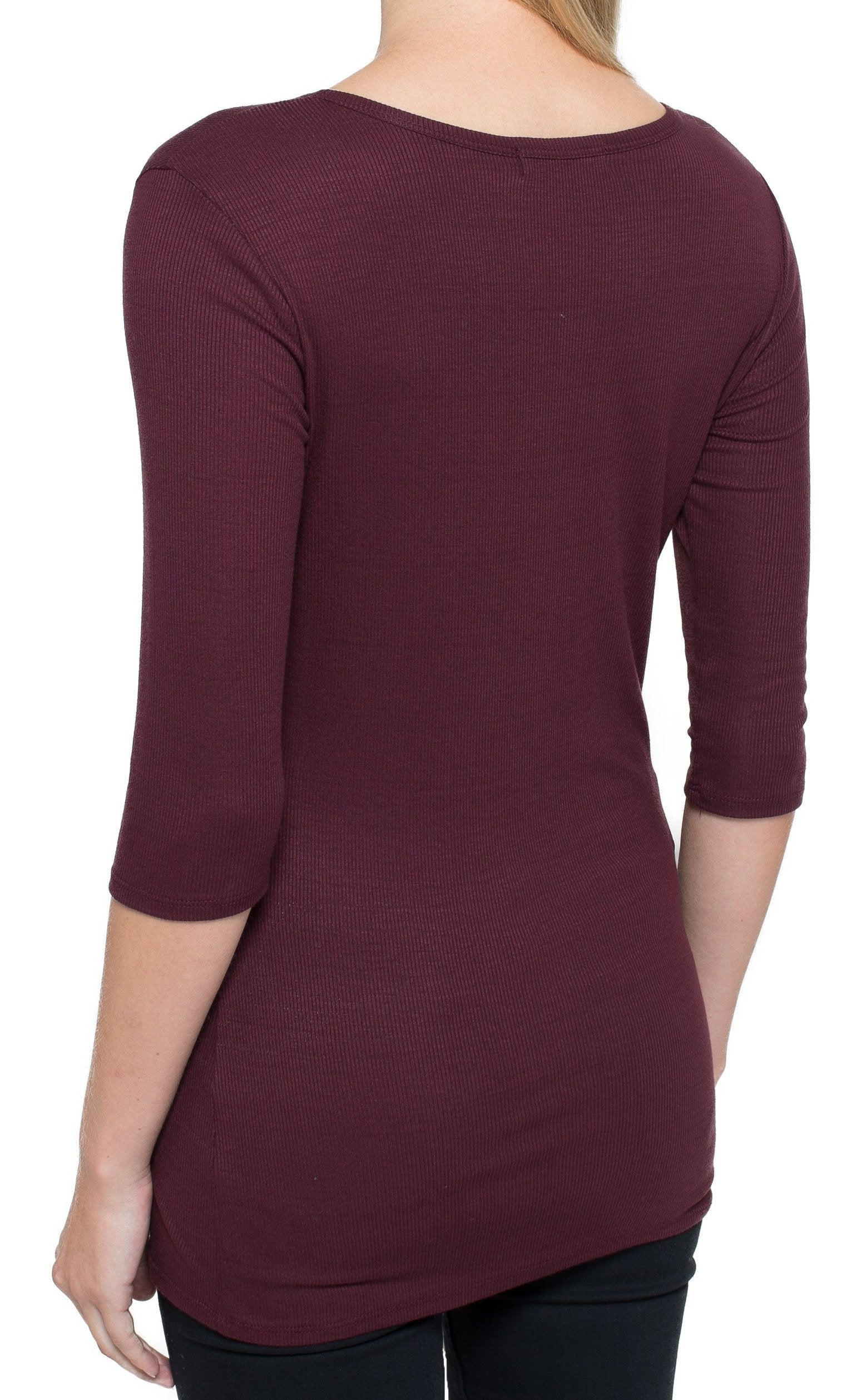 Fitted 1/2 Sleeve Top