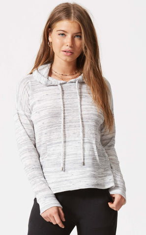 Cowl Neck Dolman Pull Over