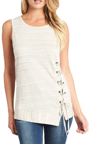 Pleated Tank Top