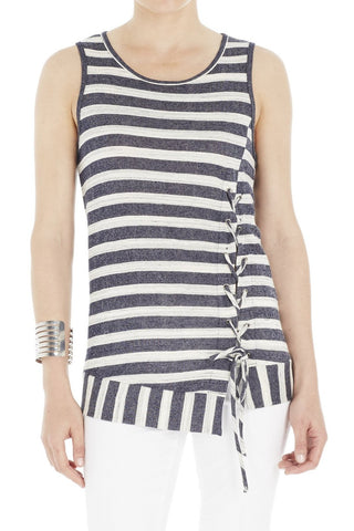 Sleeveless Top with Grommets laced Up (more colors available)