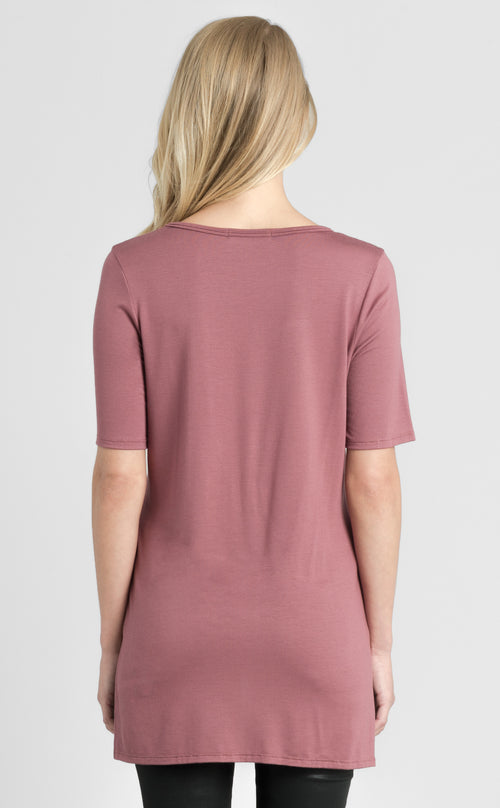 Short Sleeve Front Tie Top