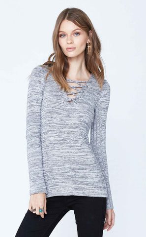 Long Sleeve High Low Hem