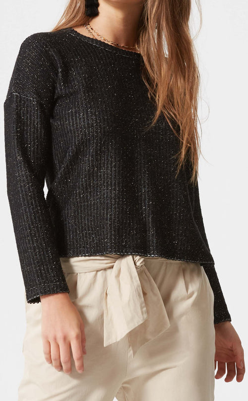 Boxy Long Sleeve Pullover