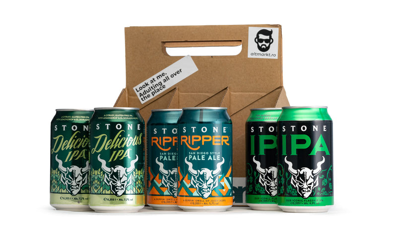 Stone craft beer tasting kit