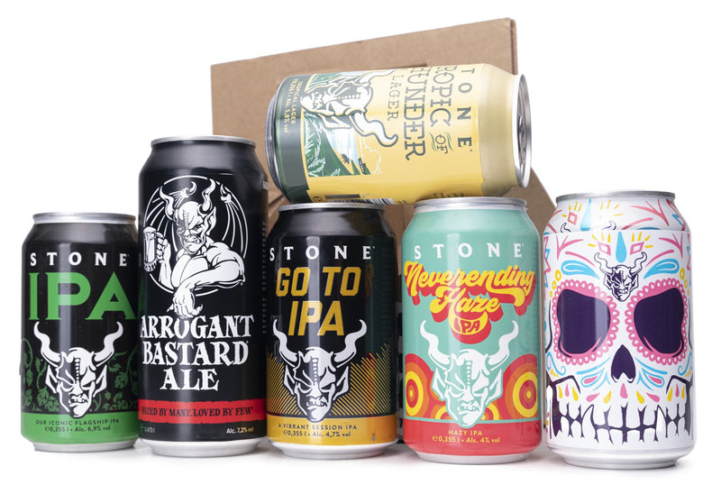American craft beer tasting kit