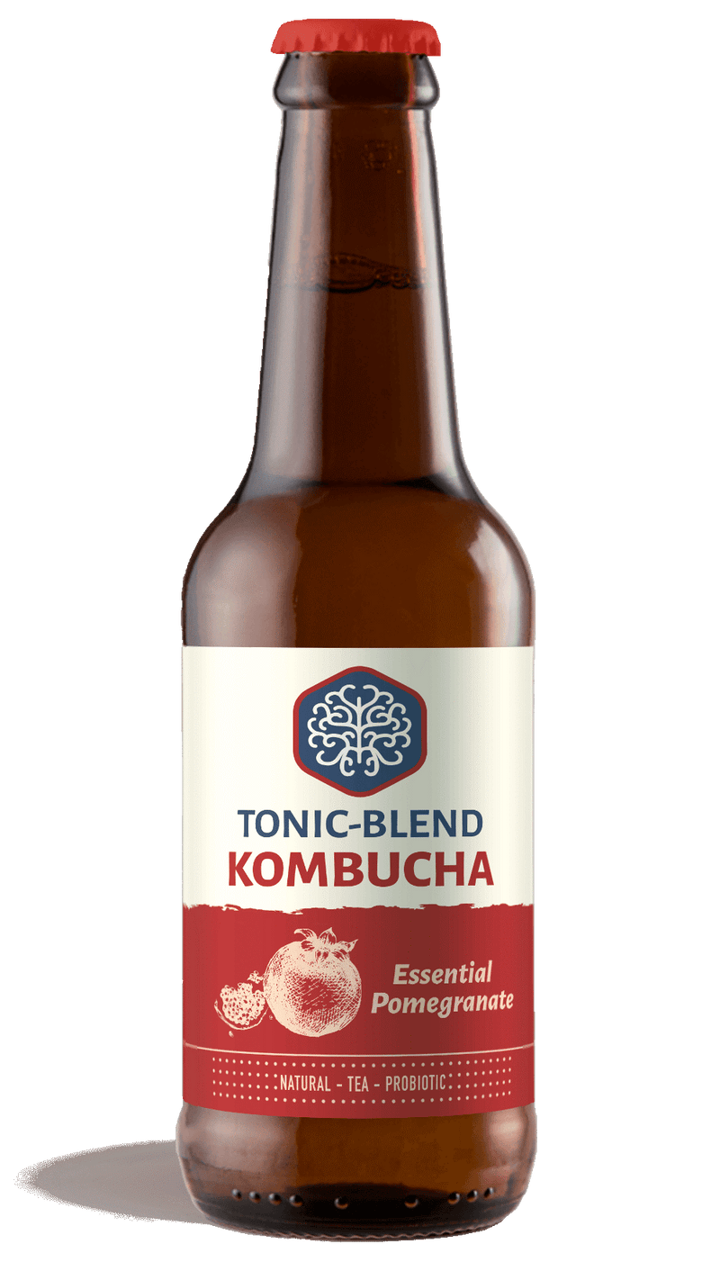 Kombucha - Essential Pomegranate, Tonic-Blend, 330ml