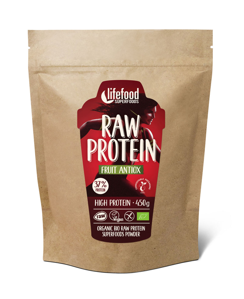 Pudra proteica Fructe Raw Food 450g