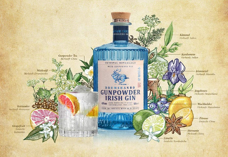 Gin Gunpowder Irish Gin 0.7L