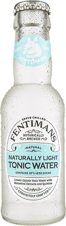 Apa Tonica Fentimans NATURALLY LIGHT TONIC WATER 200ml