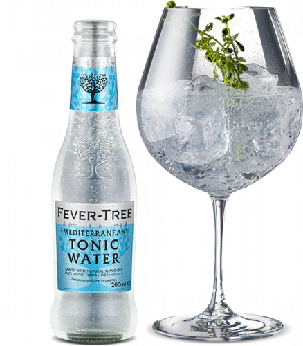 Apa Tonica Fever Tree Mediterranean 200ml