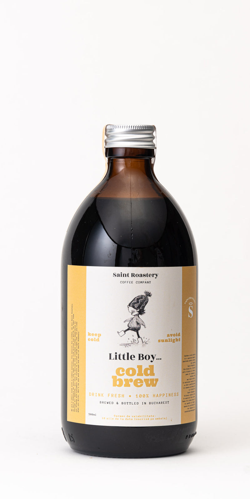 Cafea de specialitate Little Boy Cold Brew 0.5l