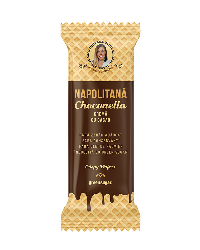 Napolitana Choconella, Green Sugar 40g