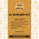 Double Burger Kit Burger Van