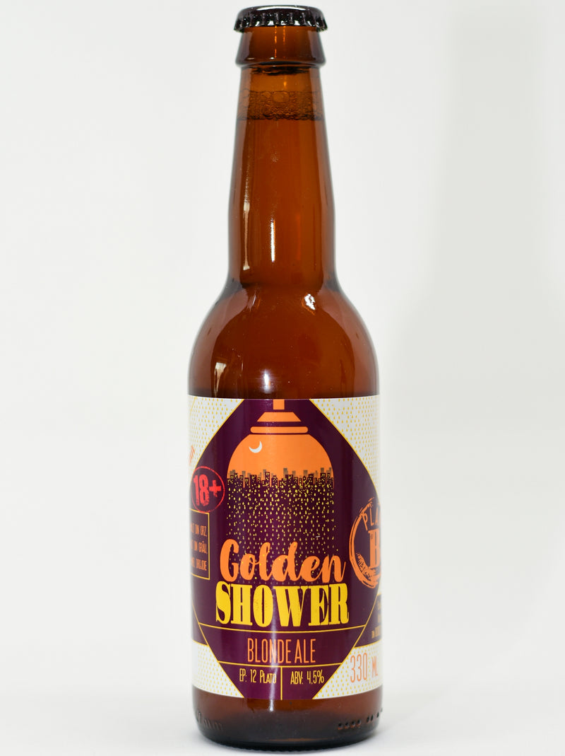 Bere artizanala, Golden Shower, Plan Beer 330ml