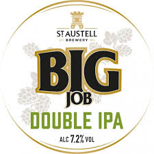 Bere artizanala St. Austell Big Job Double IPA 500ml