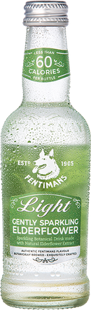 Limonada cu Soc Fentimans Gently Sparkling Elderflower Light 250ml