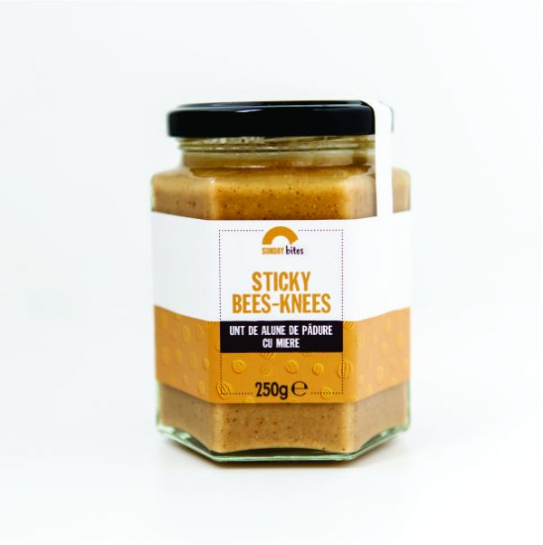 Unt de arahide Sticky Bees-Knees Sunday Bites 250g