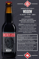 Bere artizanala American Stout Wooow One Beer Later 330 ml